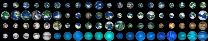 Oxygen planets