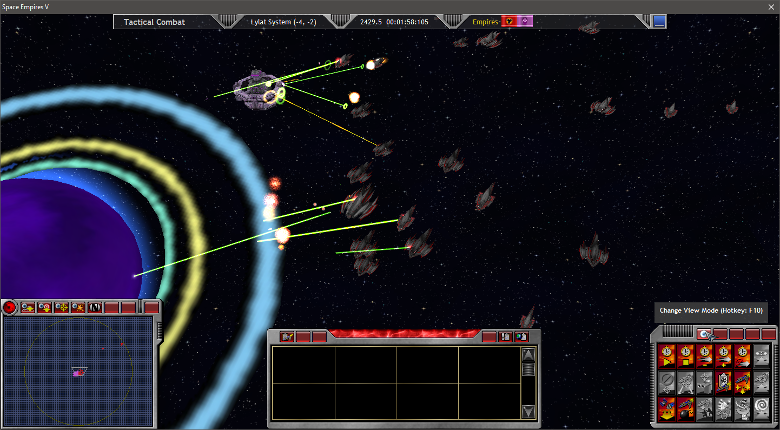 The Lylat Attack Fleet disarms Lylat VII
