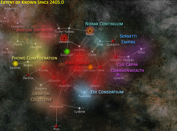 Map of Known Space 2405.0