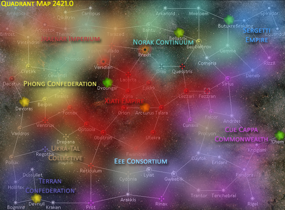 Map of Known Space 2421.0